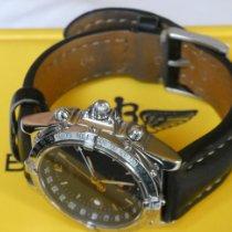 Breitling Duograph Сталь 38mm Черный