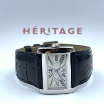 Cartier Tank Divan Steel White Roman numerals