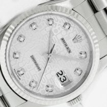 Rolex Datejust Steel 36mm Champagne No numerals United States of America, California, Los Angeles