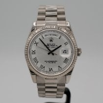 Rolex 118239 Or blanc 2002 Day-Date 36 36mm occasion