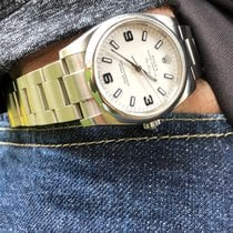 Rolex Air King Steel 34mm White Arabic numerals United States of America, Florida, Pembroke Pines