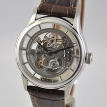 Oris Steel Automatic Transparent 40.5mm new Artelier Translucent Skeleton