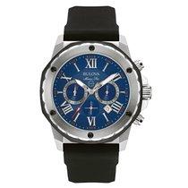 Bulova Marine Star Steel 44mm Blue Roman numerals United States of America, New York, Bellmore