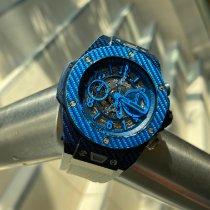 Hublot Big Bang Unico Углерод 45mm Синий