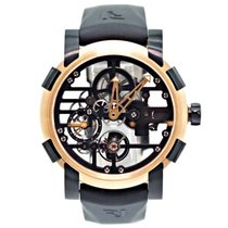 Romain Jerome Moon-DNA Oro rosa 48mm Transparente