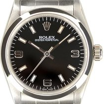 Rolex Oyster Perpetual 31 Ocel 31mm Černá Arabské