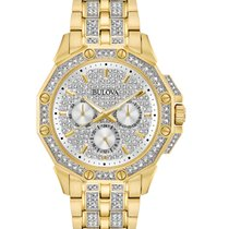 Bulova Crystal Steel 41.7mm No numerals United States of America, New York, Bellmore