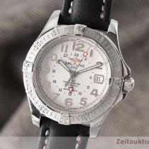 Breitling Colt GMT Stahl 41mm Silber Deutschland