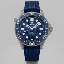 Omega Seamaster Diver 300 M Steel 42mm Blue No numerals
