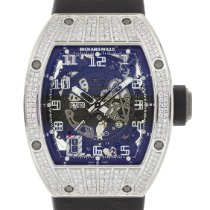Richard Mille RM 010 RM010 Very good White gold 48mm Automatic