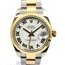Rolex Lady-Datejust Acero y oro 31mm Blanco España, Marbella