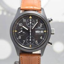 IWC Pilot Chronograph Céramique 39mm Noir Arabes France, Cannes