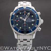 Omega Seamaster Diver 300 M Steel 41.5mm Blue United States of America, New York