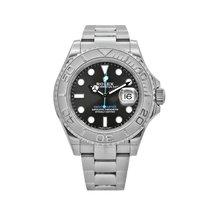 Rolex Yacht-Master 40 Steel 40mm Grey No numerals United States of America, New York, New York