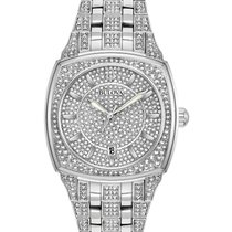 Bulova Crystal Steel 40mm No numerals United States of America, New York, Bellmore