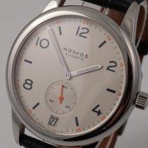 NOMOS Club Automat Datum Acier 41.5mm Blanc Arabes