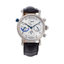 Chronoswiss Tora White gold 38mm Silver
