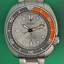 Seiko Prospex Steel 45mm Grey No numerals