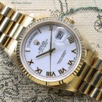 Rolex Day-Date 36 Yellow gold 36mm White Roman numerals UAE, Dubai