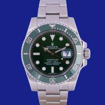 Rolex Submariner Date Acciaio 40mm Verde Senza numeri Italia, Eur (RM)