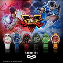 Seiko 5 Sports SRPF Street Fighter Set New Steel 42.5mm Automatic Malaysia