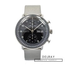Junghans max bill Chronoscope Stal 40mm