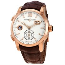Ulysse Nardin 3346-126 Rose gold Dual Time 42mm pre-owned United States of America, New York, NY