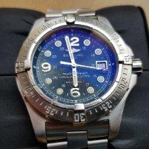 Breitling Superocean Steelfish Stahl 44mm Blau Arabisch Deutschland, Pirmasens