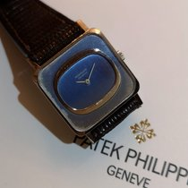 Patek Philippe Oro blanco Cuerda manual Azul usados Vintage