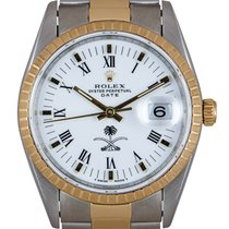 Rolex Oyster Perpetual Date Gold/Steel 34mm White Roman numerals United Kingdom, London