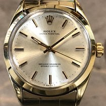 Rolex Oyster Perpetual 34 34mm Silver United States of America, Texas, Dallas