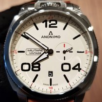 Anonimo pre-owned Automatic 43.4mm White Sapphire crystal