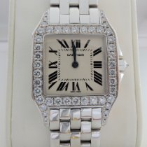 Cartier Santos Demoiselle White gold 26mm Silver (solid) Roman numerals United States of America, Florida, Tampa