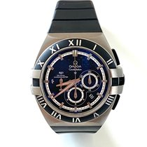 Omega Titanium Automatic 41mm pre-owned Constellation Double Eagle