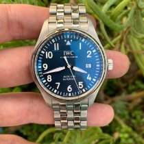 IWC Pilot Mark Steel 40mm Blue Arabic numerals United States of America, California, Los Angeles