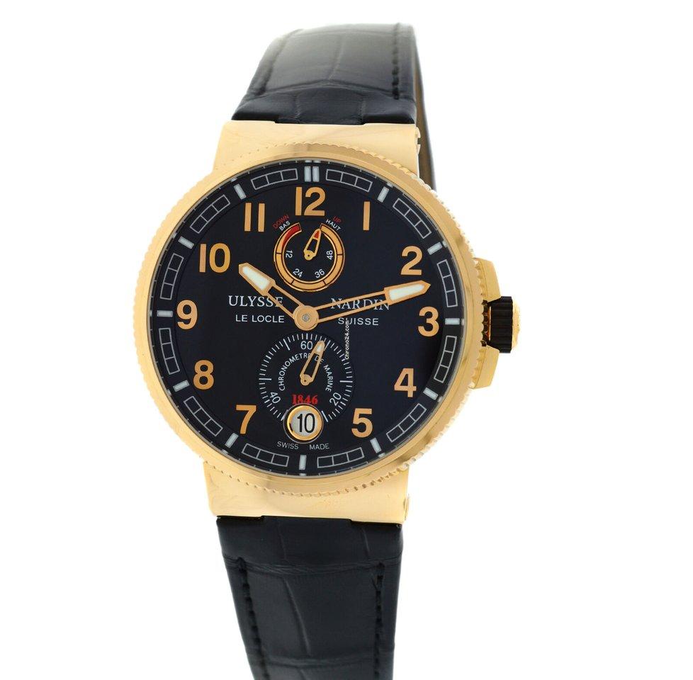 Ulysse Nardin Marine Chronometer Manufacture 1186-126-62 new