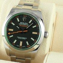 Rolex (ロレックス) ミルガウス ステンレス 40mm ブラック 日本