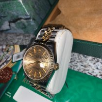 Rolex Datejust Ouro/Aço 36mm Ouro
