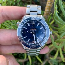 Omega Seamaster Planet Ocean Steel 39.5mm Blue Arabic numerals United States of America, California, Los Angeles