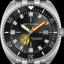 Nethuns Acero 44mm Automático A2S301 Nethuns Aqua II nuevo