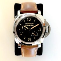 Panerai Luminor 1950 3 Days Power Reserve Steel 47mm Black Arabic numerals United States of America, Texas, Dallas