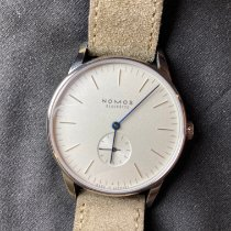 NOMOS Orion 38 Steel White