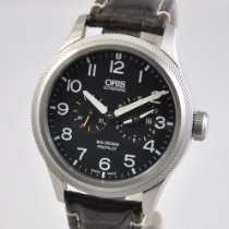 Oris Big Crown ProPilot Worldtimer Steel 44.7mm Black United States of America, Ohio, Mason
