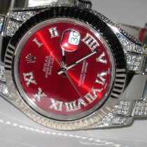 Rolex Datejust II Steel 41mm Red Roman numerals United States of America, California, Temecula