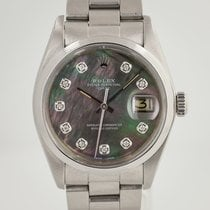 Rolex Oyster Perpetual Date Steel 34mm Mother of pearl No numerals United States of America, California, Pleasant Hill