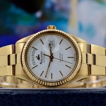 Philip Watch Caribe Yellow gold 36mm White No numerals