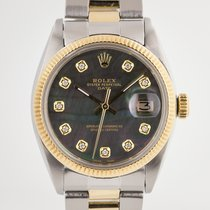 Rolex Oyster Perpetual Date Gold/Steel 34mm Mother of pearl No numerals United States of America, California, Pleasant Hill