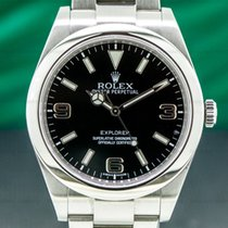 Rolex Explorer Steel 39mm Black United States of America, Massachusetts, Boston
