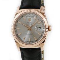 Rolex Automatisch Zilver tweedehands Day-Date 36