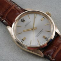 Rolex 1002 Oro amarillo 1971 Oyster Perpetual 34 34mm usados